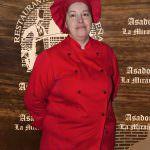 cocinera asador
