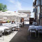 terraza exterior comida